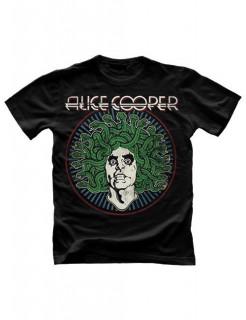 Alice Cooper-T-Shirt Medusa schwarz-grün-weiss