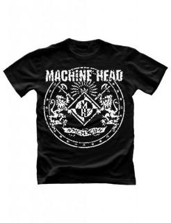 Machine Head Fan-Shirt schwarz-weiss