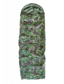 Camouflage-Schlafsack Camping-Zubehör grün-braun 190cm