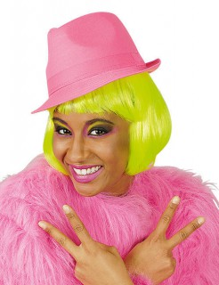 Fedora UV-Hut Partyhut pink