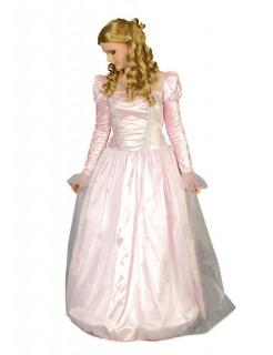 Märchen-Prinzessin Damenkostüm Königin rosa