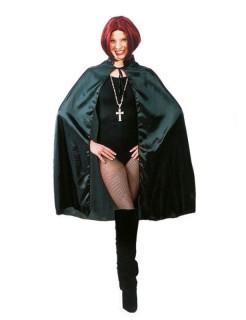 Vampir-Umhang Gothic-Cape schwarz 70cm