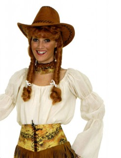 Mittelalter Carmen-Bluse Piratin weiss