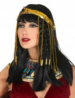 Cleopatra-Stirnband Schlange gold