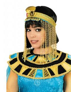 Cleopatra Kopfschmuck ägypterin gold