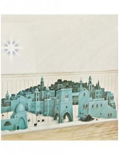 Wand Deko Stern von Betlehem bunt 85x165cm