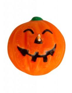 Halloween Schwimmkerze Kürbis orange 6cm