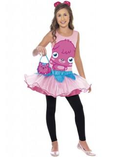 Moshi Monsters Poppet Kinderkostüm pink-rosa