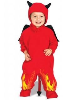 Kleiner Teufel Kostüm Kleinkind rot