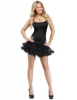 Showgirl Petticoat-Kleid Tänzerin schwarz