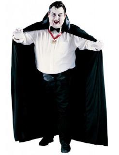 Vampir-Umhang XL Cape schwarz ca. 183cm