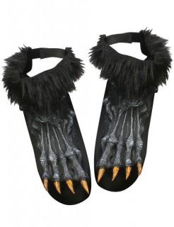 Werwolf Halloween-Schuhüberzieher schwarz