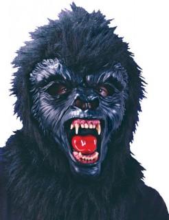 Gorilla Maske Affe schwarz