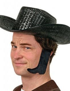 Koteletten Cowboy-Stiefel schwarz
