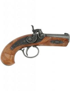 Philadelphia Einzelschuss Cowboy Pistole 13cm braun-grau