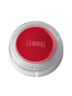 Grimas Make-Up Lippenstift Schminke sattes rot 2,5g