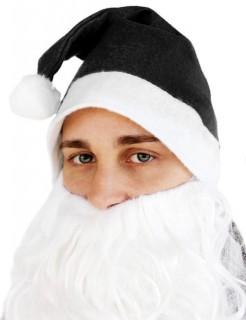 Weihnachtsmütze Zipfelmütze schwarz