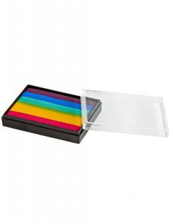 Mehron Aqua-Make-Up Prisma Schmink-Set Regenbogen 50g