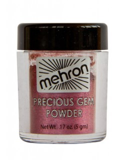 Mehron Celebré Make-Up Glanz-Puder-Lidschatten dunkelrot 5g