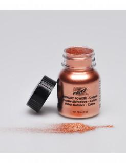 Mehron Make-Up Metallic-Puder kupfer 14g
