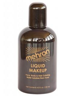 Mehron Paradise Make-Up Flüssig-Schminke schwarz 133ml