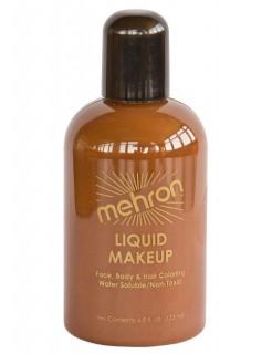 Mehron Paradise Make-Up Flüssig-Schminke braun 133ml