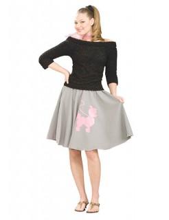 50er Jahre Rockabilly Damen Pullover schwarz