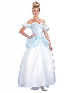 Märchen Prinzessin Damenkostüm hellblau