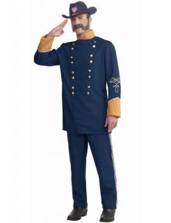 Nordstaaten Offizier Kostüm USA blau