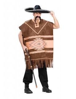 Mexikaner Kostüm Western braun
