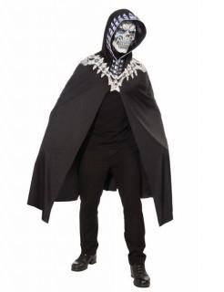 Skelett Halloween-Kostüm schwarz-weiss