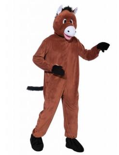 Pferd Plüsch-Kostüm braun