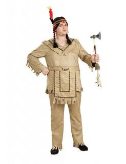 Indianer Kostüm Western XL hellbraun