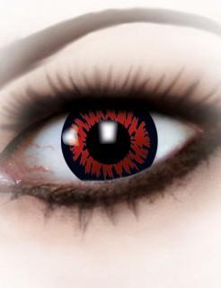 Kontaktlinsen Wolf rot