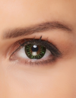 Kontaktlinsen Feuer grün