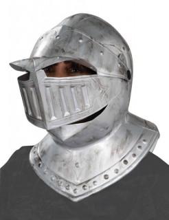 Rüstungs-Helm Ritter silber