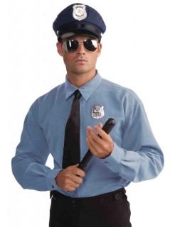 Polizist Kostüm-Set blau