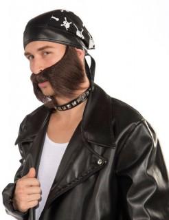 Biker Bart Rocker braun