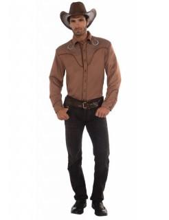 Deluxe Cowboy-Hemd Western braun