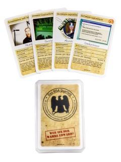 NSA Quartett Kartenspiel 32-teilig bunt 9x6x2cm