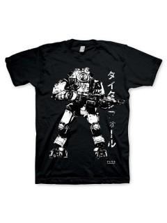 Titanfall - Atorasu T-Shirt Lizenzware schwarz-weiss