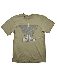 Titanfall-T-Shirt IMC Vintage Logoshirt oliv-grau