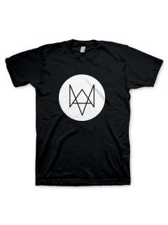 Watch Dogs™ T-Shirt Fuchs schwarz-weiss