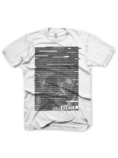 Watch Dogs™ T-Shirt Wanted weiss-schwarz