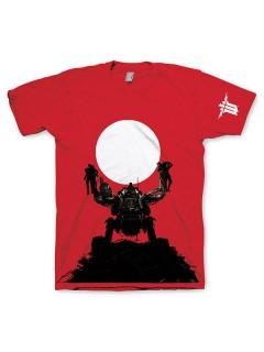 Wolfenstein™-T-Shirt rot-schwarz-weiss