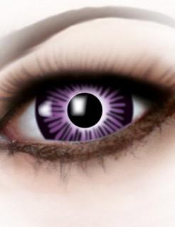 Kontaktlinsen Big Eyes lila