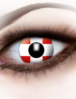 Kontaktlinsen Schweiz rot-weiss