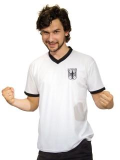 70er-Jahre Kult-Trikot Deutschland Fussball-Fanartikel schwarz-weiss