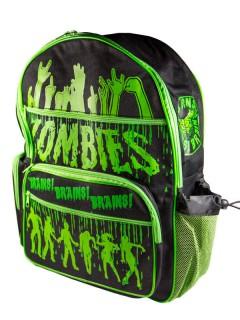 Kreepsville Gothic Rucksack Zombies schwarz-grün