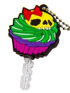 Kreepsville-Schlüsselkappe Schlüssel-Überzug Cupcake bunt 4,5cm